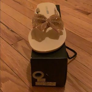 Size 9 Nude Sandals